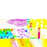 Efecto glitching químico abstracto Error al azar de la señal numérica Mosaico colorido del pixel del fondo contemporáneo abstract ilustración del vector