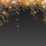 Efecto ligero abstracto de la capa Imagen de archivo