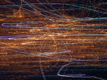 Efecto luminoso Fotos de archivo libres de regalías