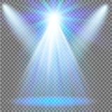 Efecto luminoso de la luz del sol del vector de la llamarada especial transparente de la lente Foto de archivo