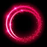Efecto luminoso de neón Foto de archivo libre de regalías