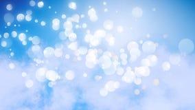 Efecto luminoso del cielo y del bokeh libre illustration
