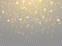Efecto luminoso del resplandor Concepto de las luces de la Navidad del vector ilustración del vector