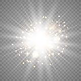 Efecto luminoso del tono blanco fotografía de archivo libre de regalías