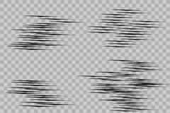 Efecto luminoso especial del brillo blanco de las chispas El vector chispea en fondo transparente Modelo abstracto de la Navidad  libre illustration