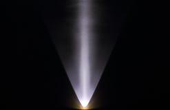 Efecto - luz señalada contra una pared Fotografía de archivo libre de regalías