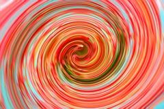 Efecto multicolor del giro para el fondo abstracto stock de ilustración