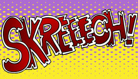 Efecto sonoro de Skreech Fotos de archivo libres de regalías