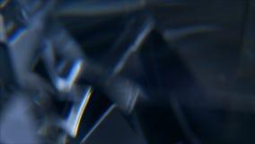 Efecto visual roto del vidrio o del hielo almacen de video
