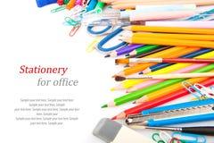 Efectos de escritorio para la oficina Fotografía de archivo