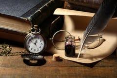 Efectos de escritorio viejos Imagen de archivo libre de regalías