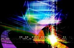 Efectos luminosos ilustración del vector