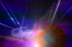 Efectos luminosos Imagenes de archivo