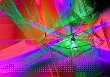 Efectos luminosos Imagen de archivo libre de regalías