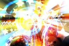 Efectos luminosos Foto de archivo libre de regalías