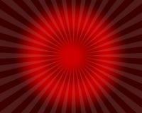 Efectos luminosos rojos abstractos de días de fiesta Foto de archivo