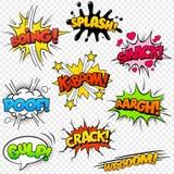 Efectos sonoros cómicos Imagen de archivo