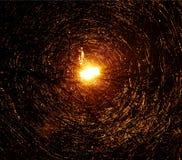 Efeito abstrato da luz na chuva Foto de Stock Royalty Free