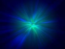 Efeito azul Imagem de Stock
