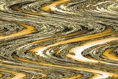 Efeito brilhante dourado do borrão das listras do fundo abstrato ilustração royalty free