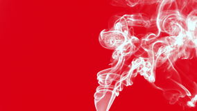 Efeito colorido abstrato de Turbulance do fumo video estoque