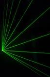 Efeito colorido do laser Fotos de Stock Royalty Free