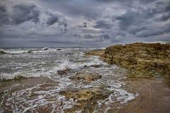 Efeito da baixa maré Imagens de Stock