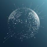 Efeito da esfera do ponto Imagem de Stock