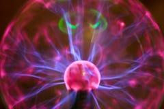 Efeito da lâmpada do plasma Fotografia de Stock Royalty Free