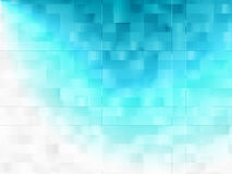 Efeito da luz azul do fundo Fotografia de Stock