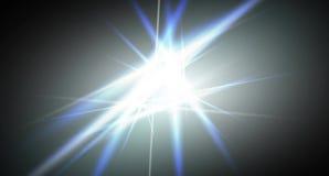 Efeito da luz de voar linhas luminosas ilustração stock