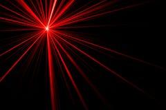 Efeito da luz do raio laser ilustração royalty free