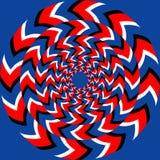 Efeito da rotação Ilustração do Vetor