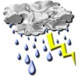 Efeito da tempestade Imagens de Stock Royalty Free