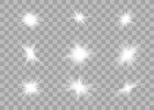 Efeito das luzes de incandesc?ncia ilustração royalty free