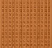 Efeito de comércio dos painéis da textura de madeira Foto de Stock