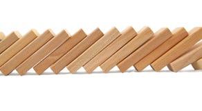 Efeito de dominó Imagem de Stock Royalty Free
