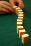 Efeito de dominó Imagens de Stock