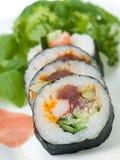 Efeito do sushi 3D Imagens de Stock