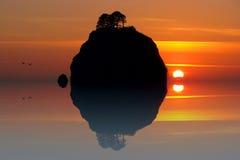 Efeito especial da praia de Rialto Foto de Stock Royalty Free