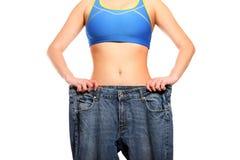 Efeitos da dieta saudável Fotografia de Stock Royalty Free