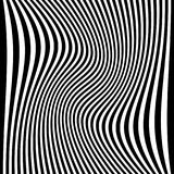 Efeitos da distorção em vários testes padrões Textu deformado geométrico ilustração do vetor