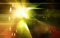 Efeitos da luz Fotos de Stock