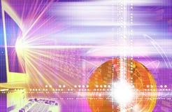 Efeitos da luz Imagens de Stock