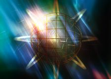 Efeitos da luz Imagens de Stock Royalty Free