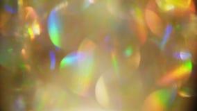 Efeitos da luz de Bokeh vídeos de arquivo