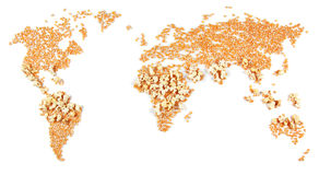 Efeitos do aquecimento global Fotos de Stock Royalty Free