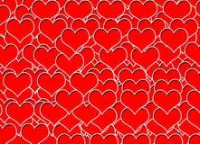 Efeitos do borrão do fundo da textura do Valentim Fotografia de Stock Royalty Free