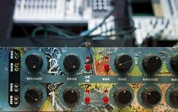 Efekta Dźwiękowego procesor Obrazy Royalty Free