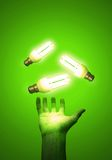 efektywna energii Obrazy Royalty Free